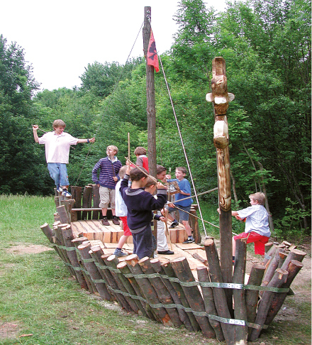 Playground: Pirat Ship for Children